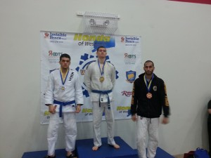 1st Place CT IBJJF -Winter 2014: 181.5 Weight Class Blue Belt